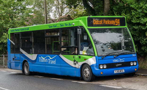 Blewbury bus