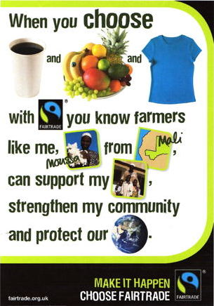 Fairtrade poster